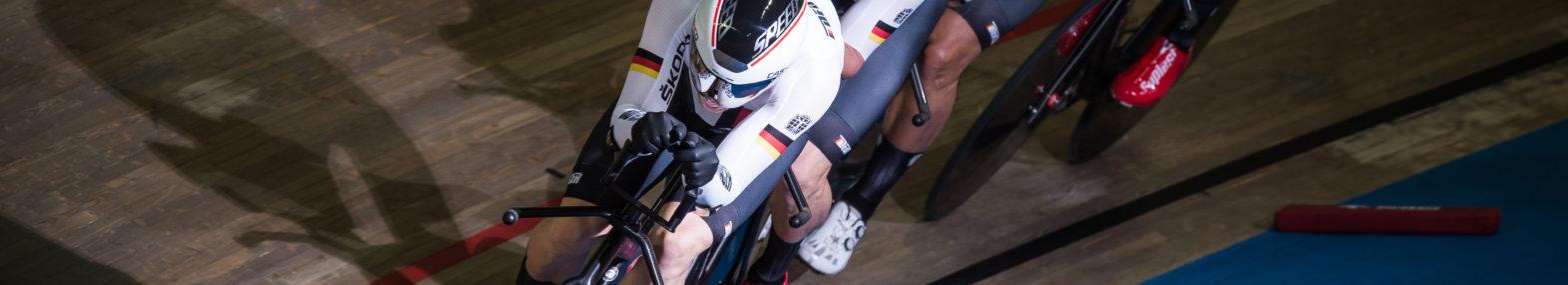 Team Deutschland bei den 109. UCI-Bahn-Weltmeisterschaften.