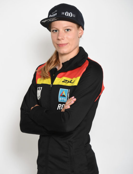 Die deutsche Triathletin Laura Lindemann.