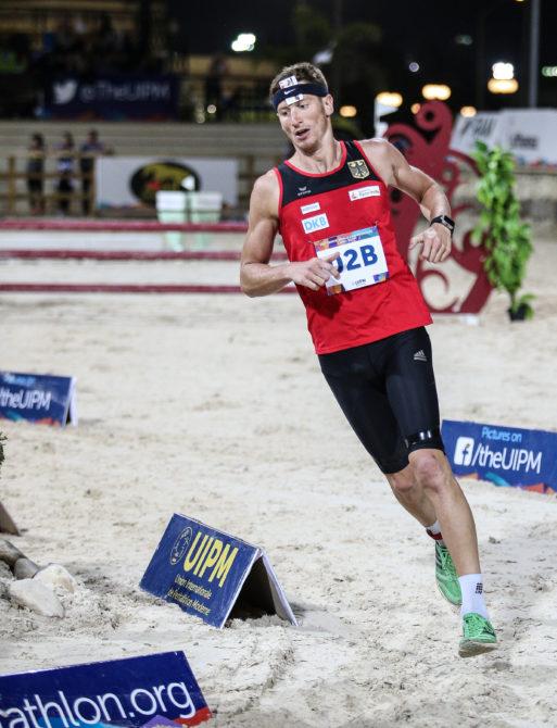 Der 28-jährige Masterstudent Alexander Nobis (Maschinenbau) im Wettkampf.