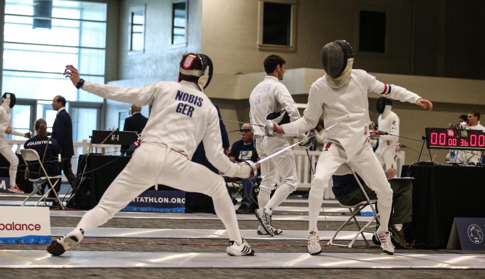 Moderner Fünfkampf Disziplinen
