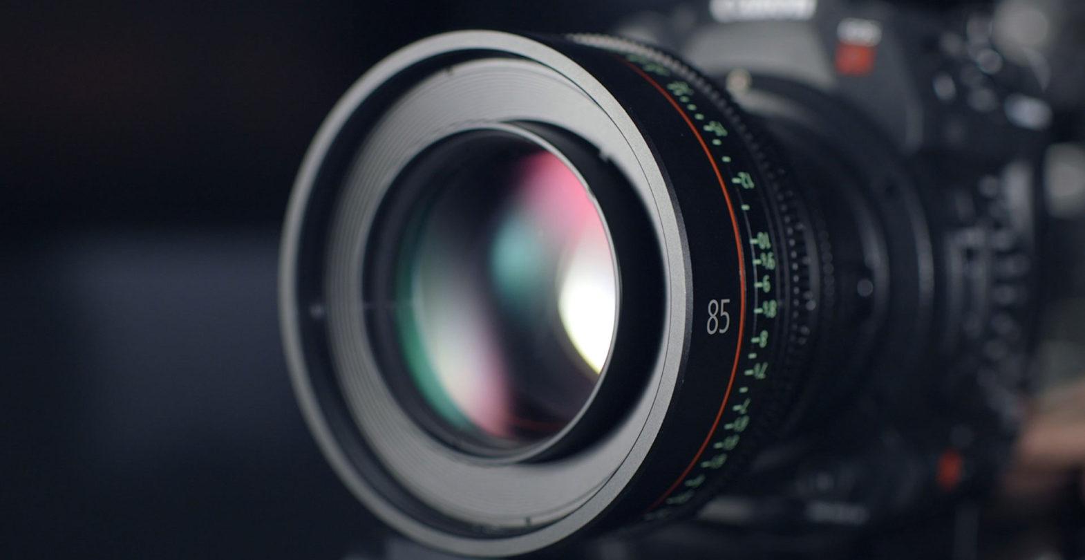 Ansicht eines Fotokameramotivs